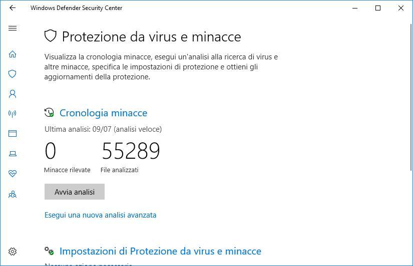 immagine scansione antivirus
