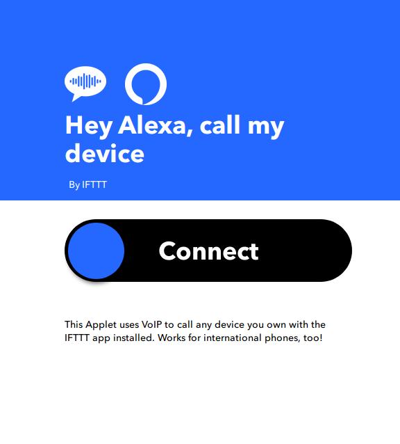 Alexa dov'è il mio telefono con IFTTT